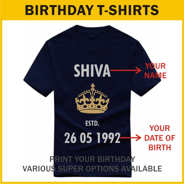 dbf56d871 T-Shirts with Slogan, Quotes & Custom Text | India's Best Collection ...