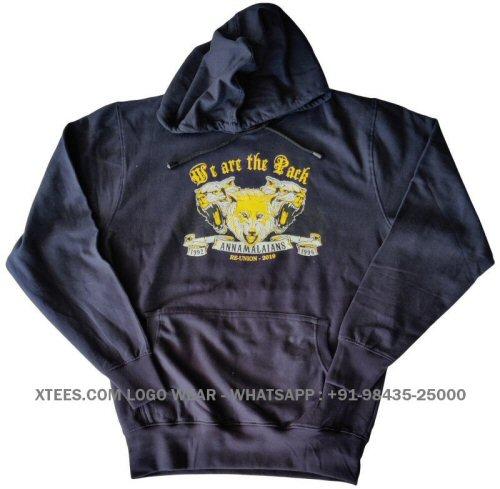 Custom design printed hoodies