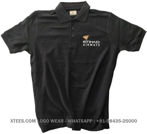 Custom logo printed collar polo t-shirts