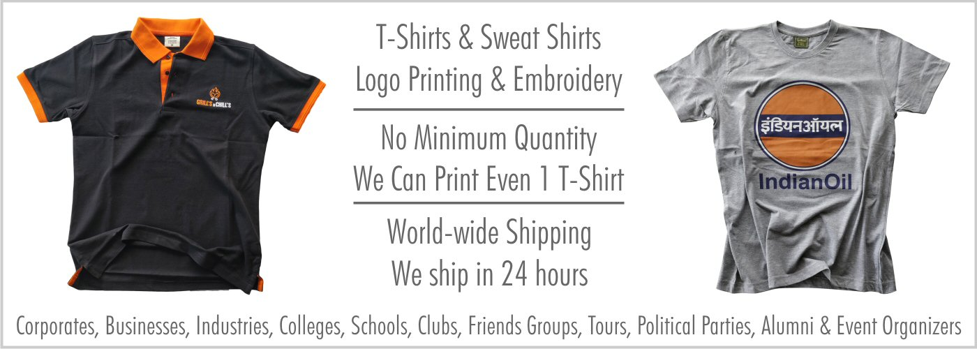 T Shirts With Slogan Quotes Custom Text India S Best Collection