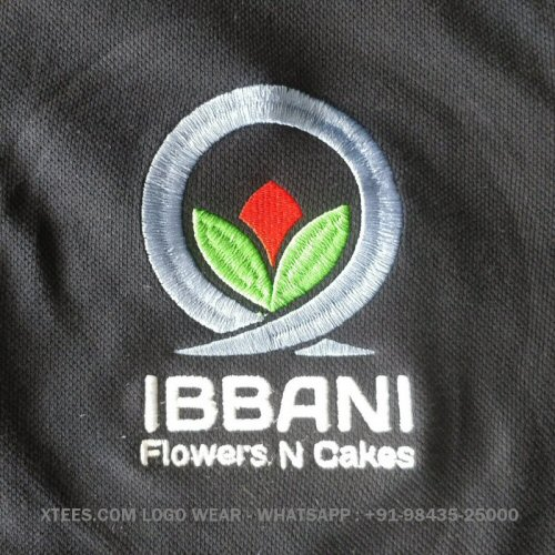 Logo embroidery sweatshirts