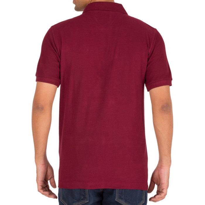 Maroon Polo Shirt Men