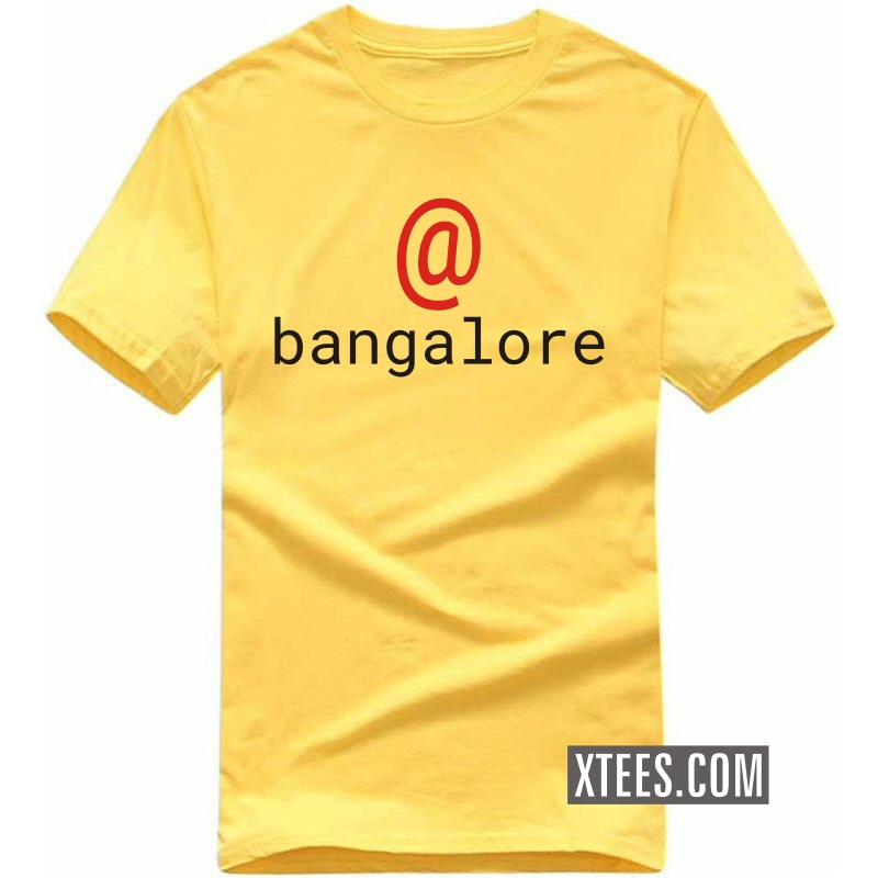 @ At Bangalore T Shirt image