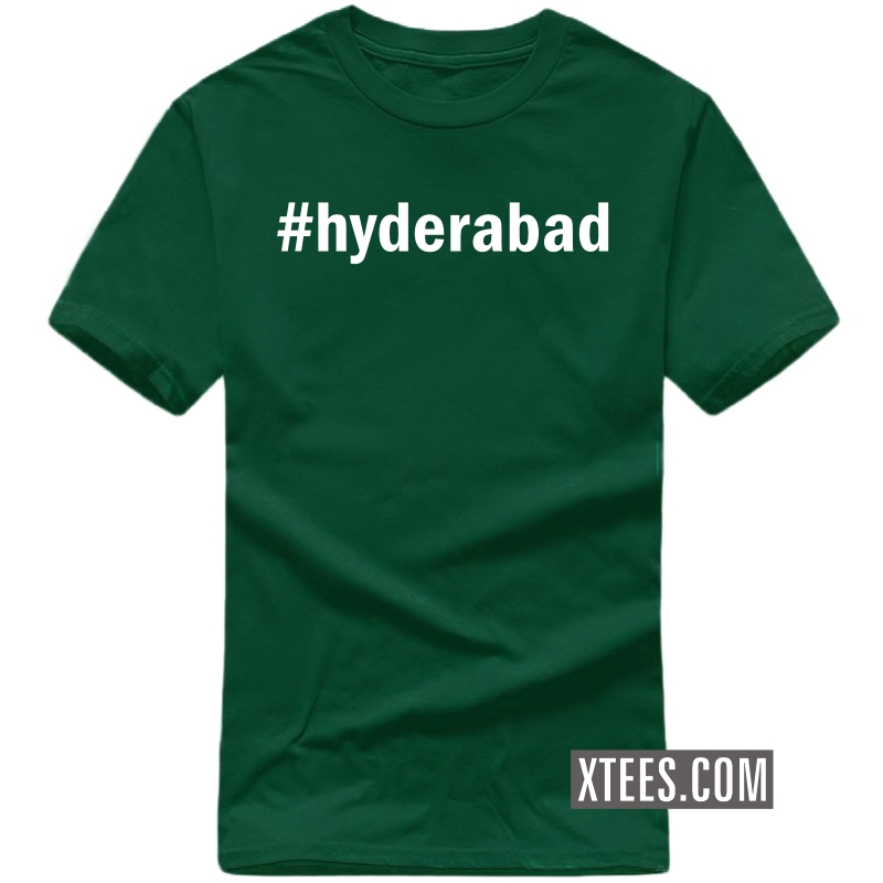 # Hashtag Hyderabad T Shirt image