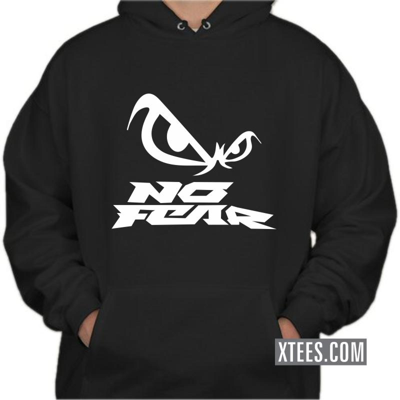 No Fear Symbol Hooded Sweat Shirts image