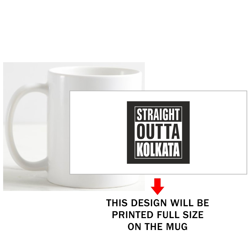 Straight Outta Kolkata Coffee Mug image