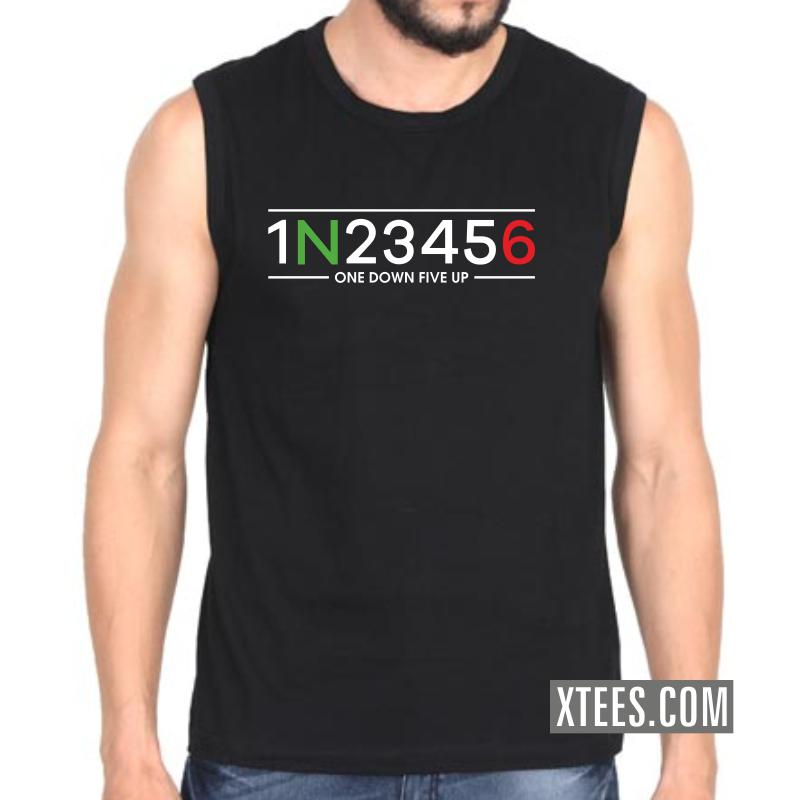 One Down Five Up (six Gear Shift) Biker Quotes Sleeveless Vests image