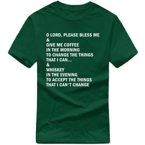 Coffee In The Morning Whiskey In The Evening T Shirt image