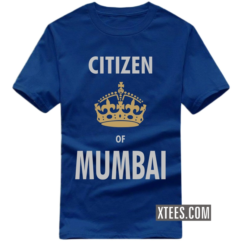 Citizen Of Mumbai T Shirt image