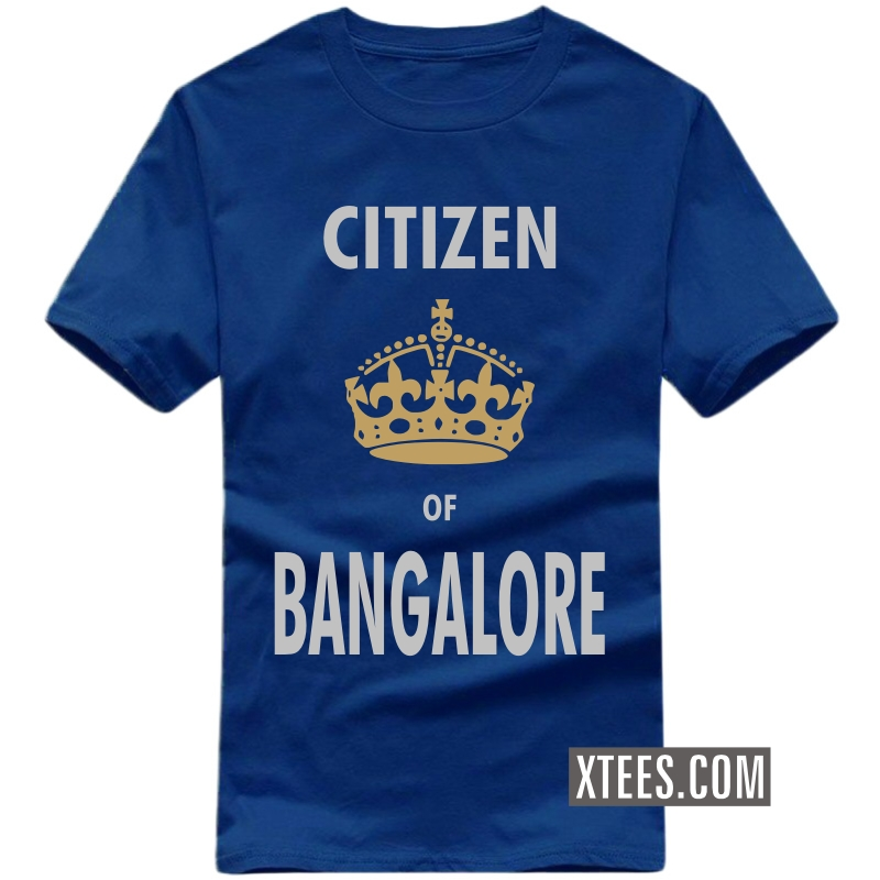 Citizen Of Bangalore T Shirt image