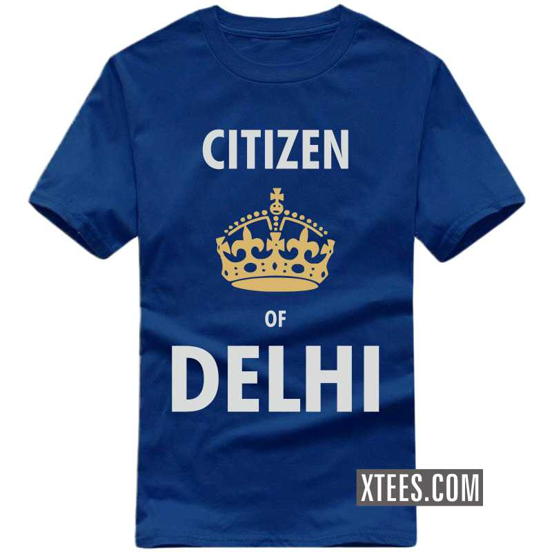 Citizen Of Delhi T Shirt image