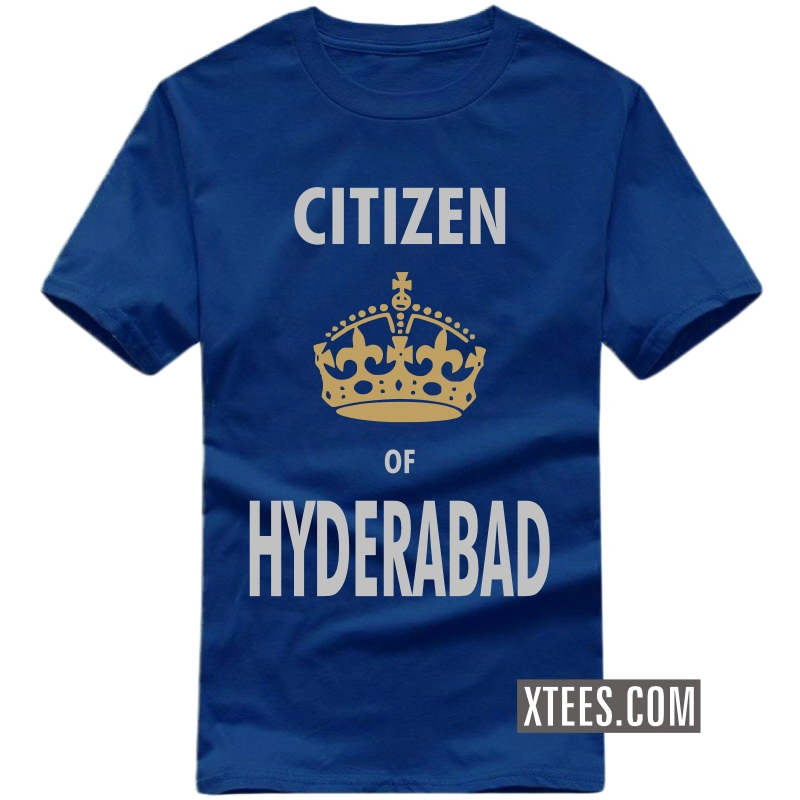 Citizen Of Hyderabad T Shirt image