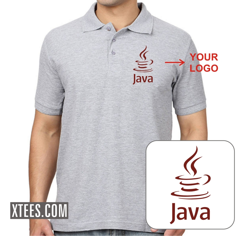 Buy custom printed collar polo t shirt for men online for Printed custom t shirts