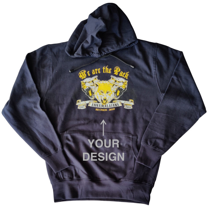 Custom Printed Hooded Sweat Shirt Hoodie image
