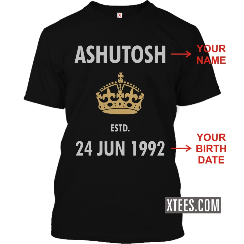 Buy being human style name printed custom t shirt for men for Best online custom shirts