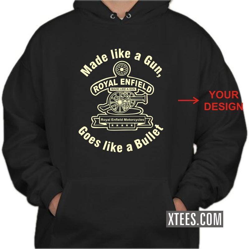 9cae2096 Buy Custom Printed Hooded Sweat Shirt Hoodie for Men online India ...