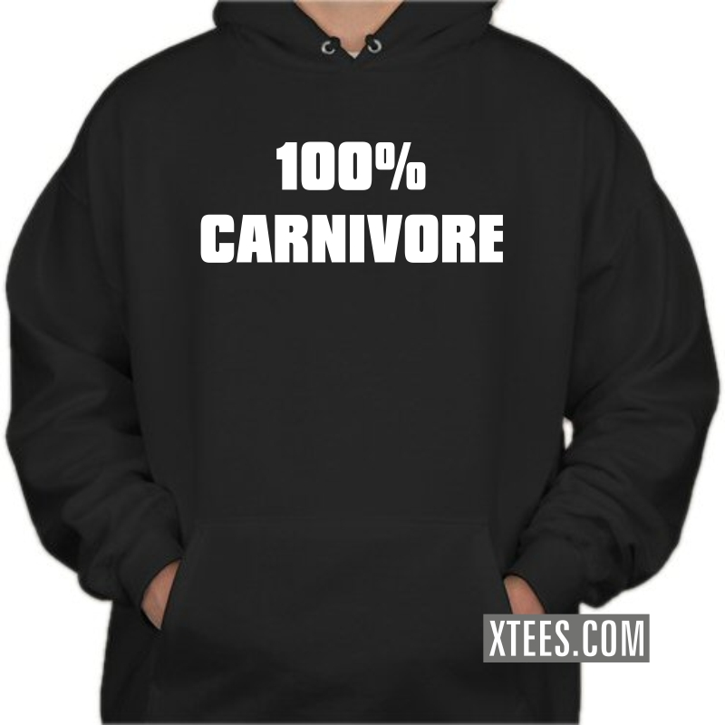 100% Carnivore Hooded Sweat Shirt image