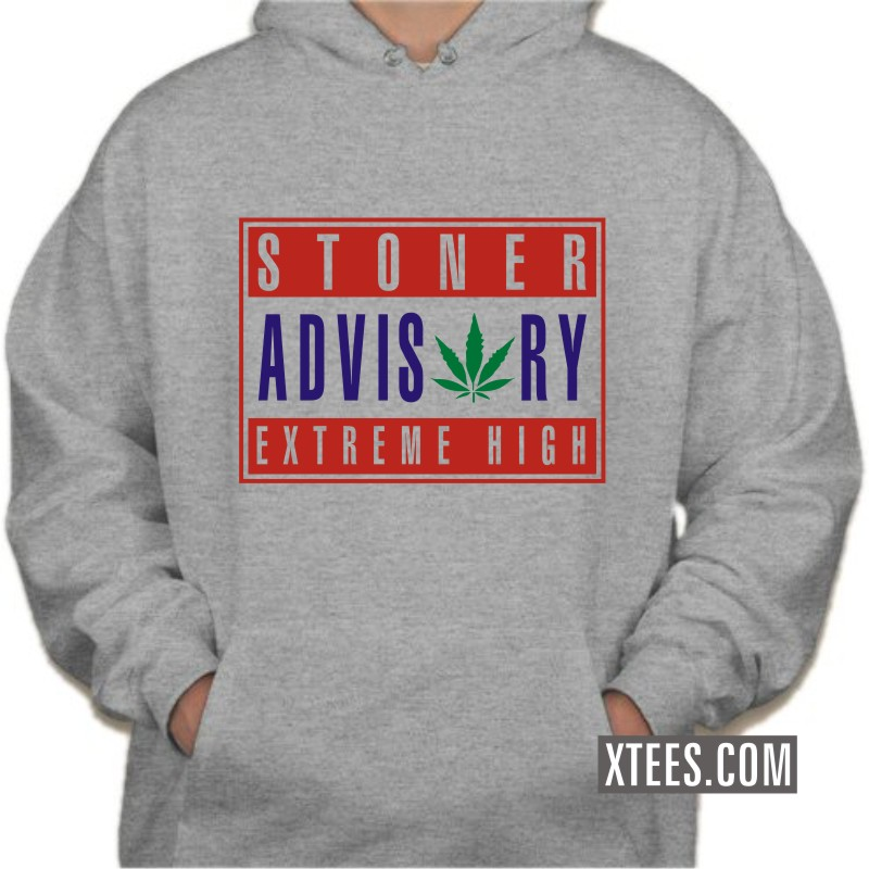 Buy Stoner Advisory Extreme High Weed Sweat Shirts Online
