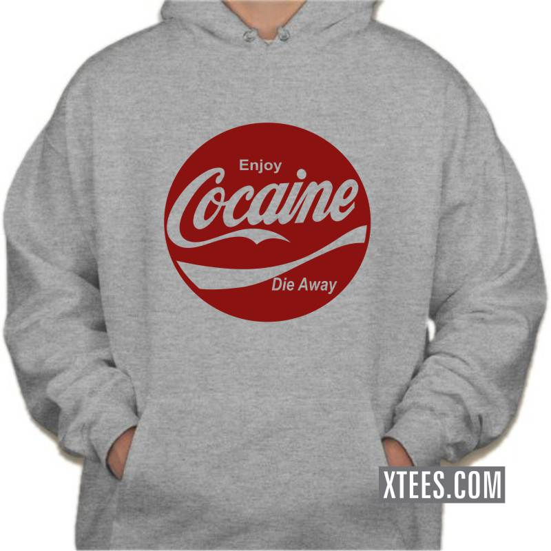 Buy Enjoy Cocaine Die Anyway Weed Slogan T Shirts Online