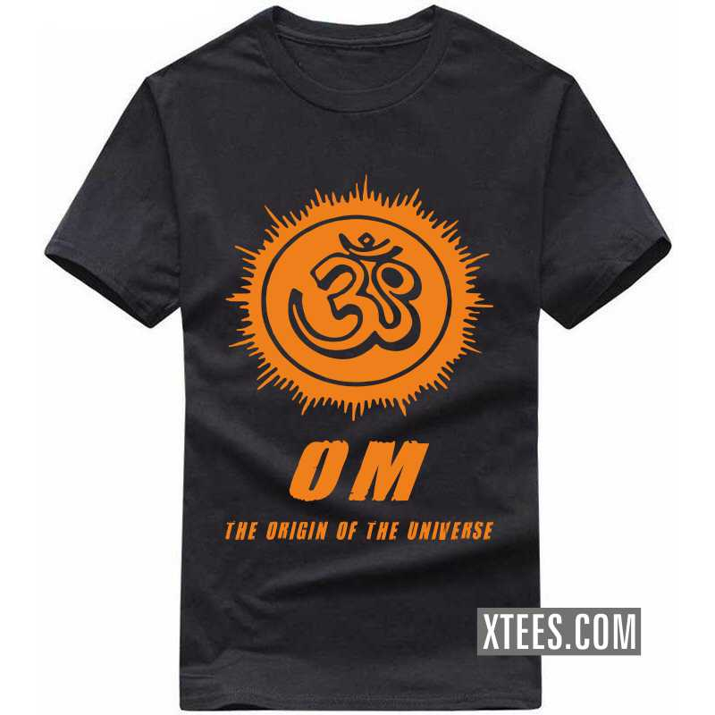 Om The Origin Of The Universe T Shirt image