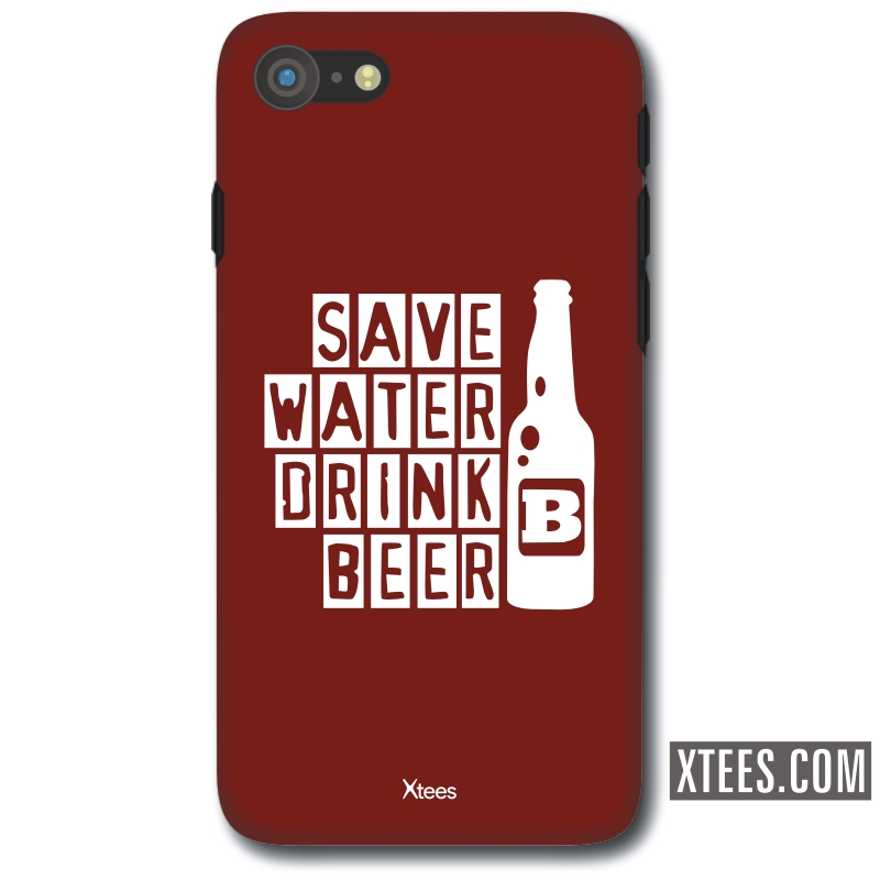 Save Water Drink Beer Alcohol Slogan Mobile Case image