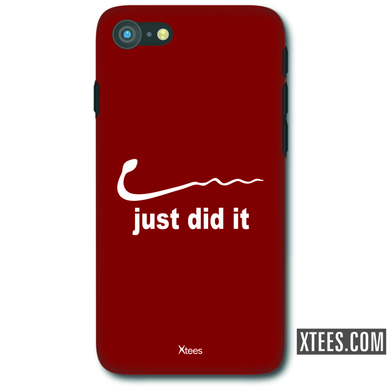 Just Did It Funny Slogan Mobile Case image