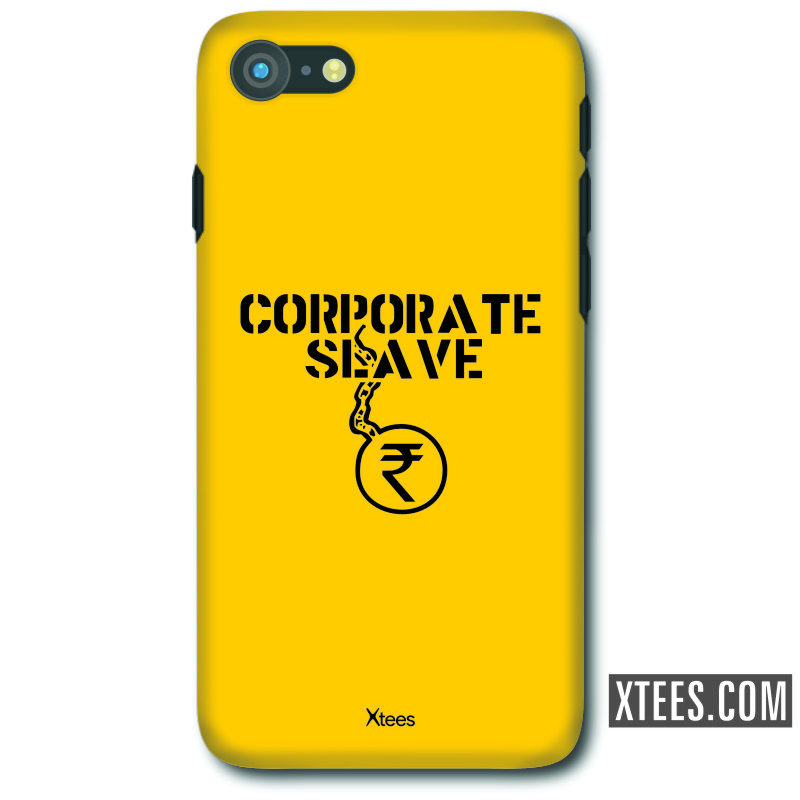 Corporate Slave Geeks Slogan Mobile Case image