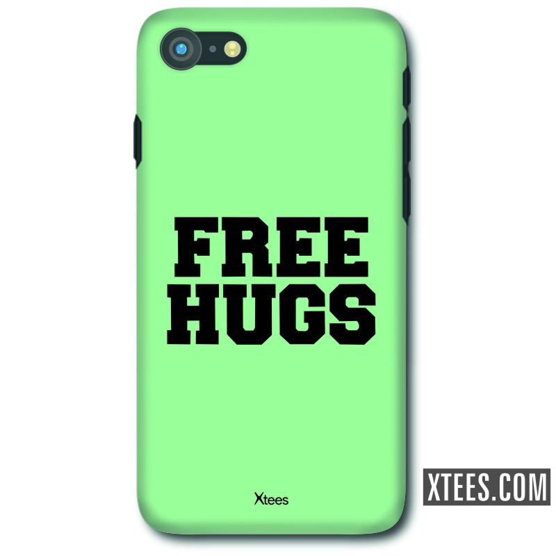 Free Hugs Funny Slogan Mobile Case image