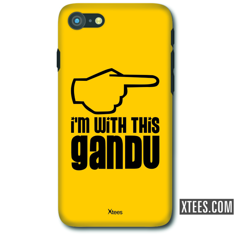 I'm With This Gandu Insulting Slogan Mobile Case image
