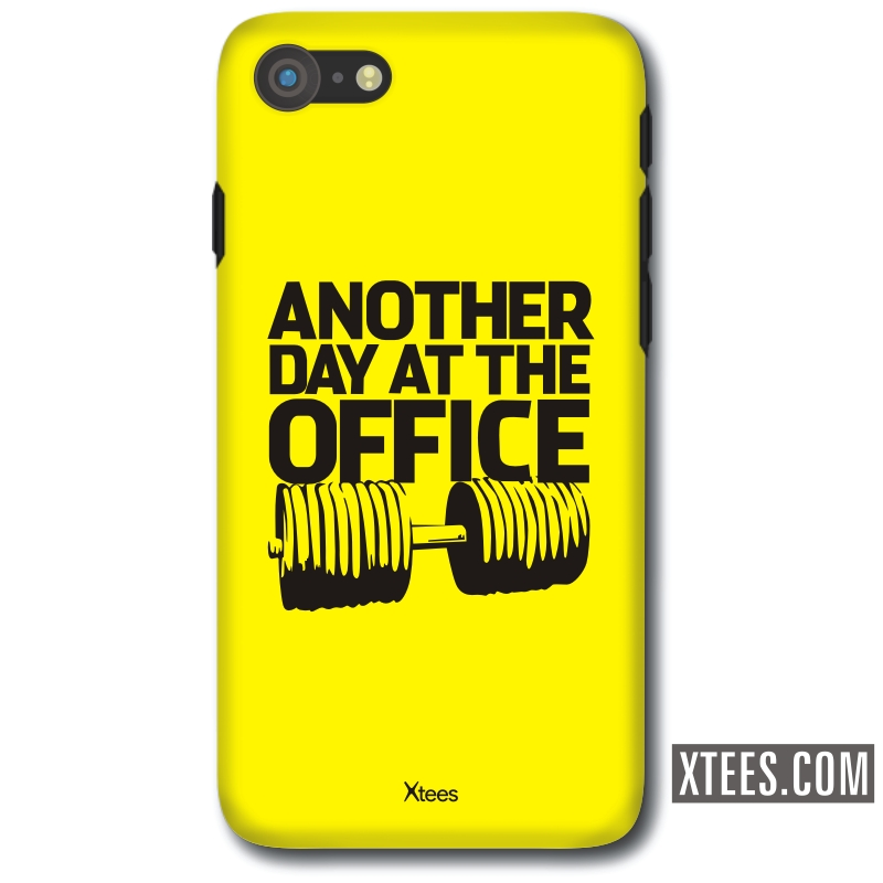 Another Day At The Office Gym Motivational Slogan Mobile Case image