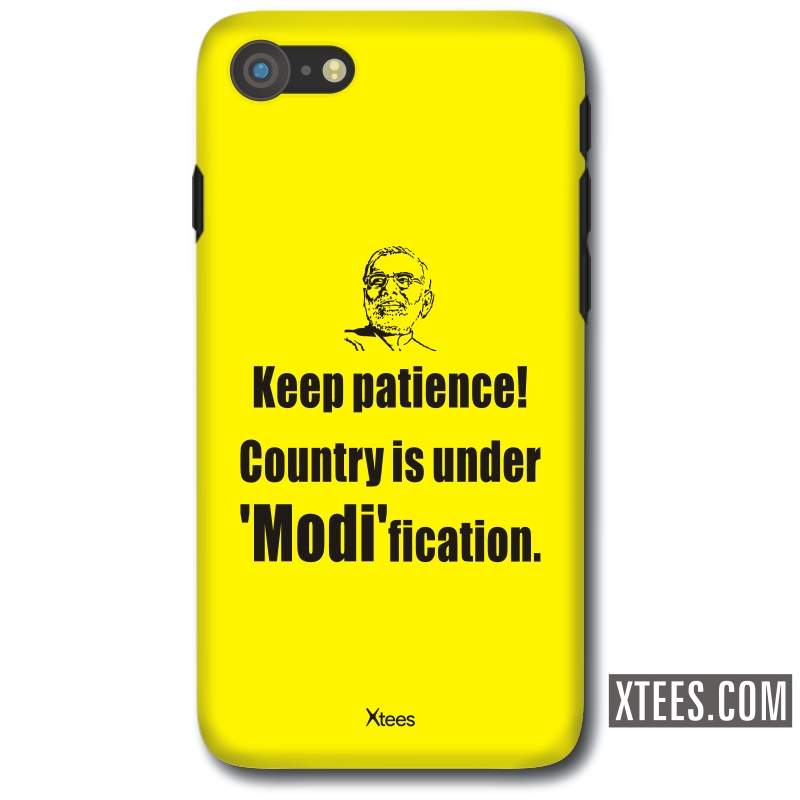 Keep Patience Country Is Under Modification Slogan Mobile Case image