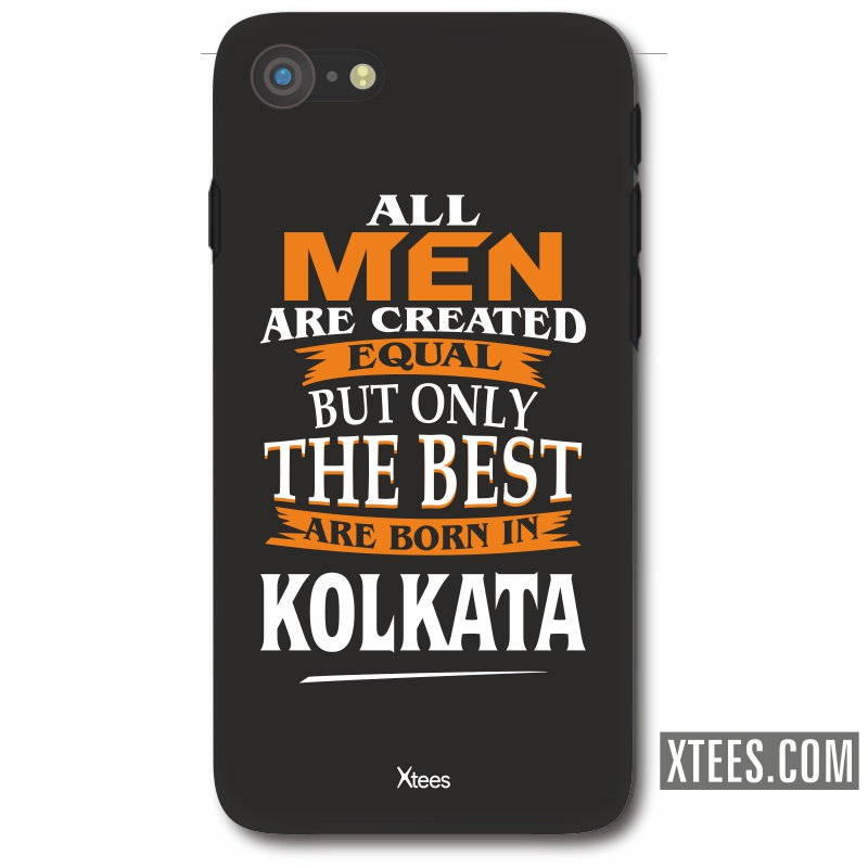 All Men Are Created Equal But Only The Best Are Born In Kolkata Mobile Case image