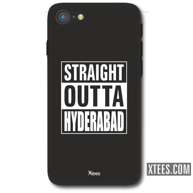Straight Outta Hyderabad Mobile Case image