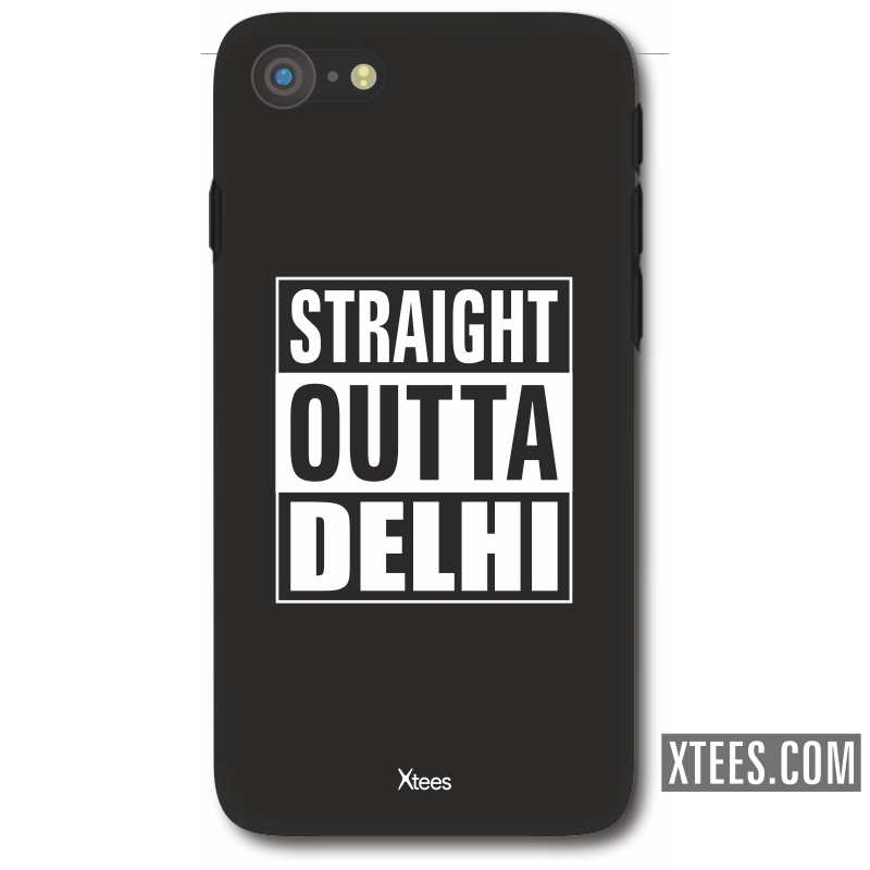 Straight Outta Delhi Mobile Case image
