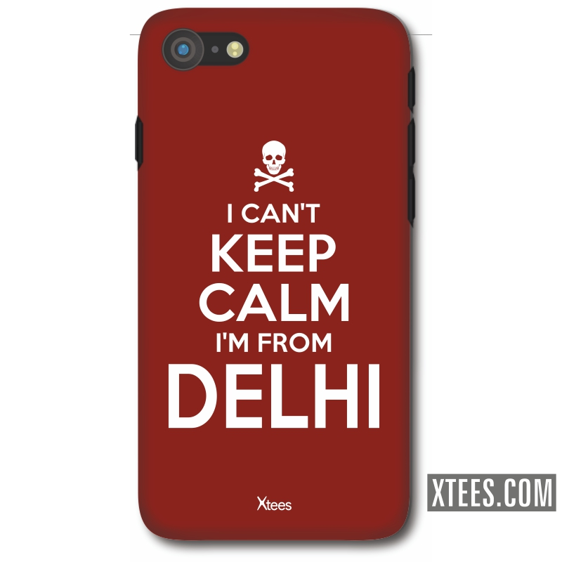I Cant Keep Calm I Am From Delhi Mobile Case image