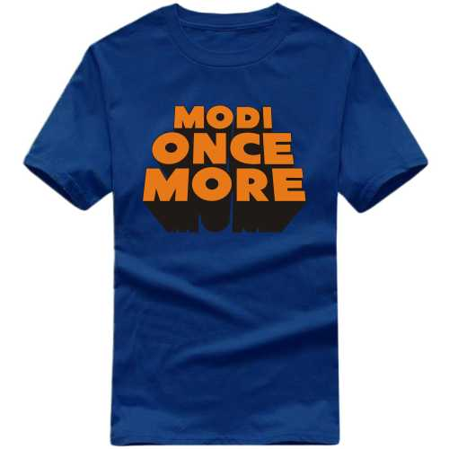 Modi Once More T-shirt image