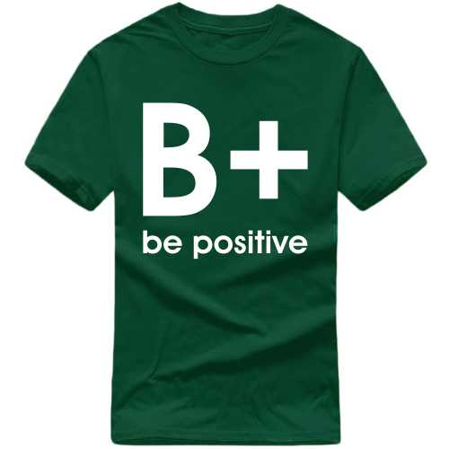 Be Positive Daily Motivational Slogan T-shirts image