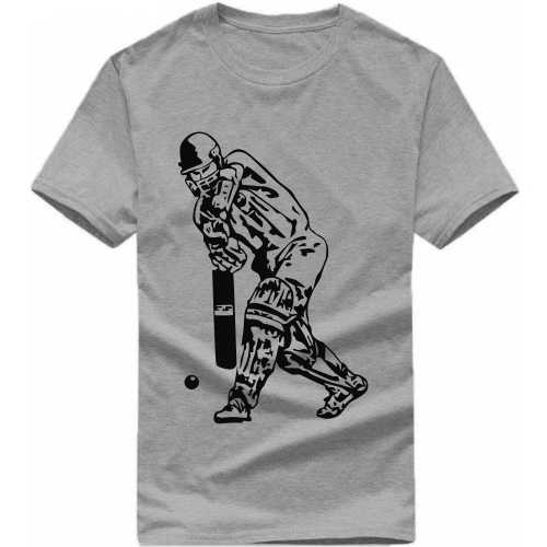 Cricket Batsman Daily Motivational Slogan T-shirts image
