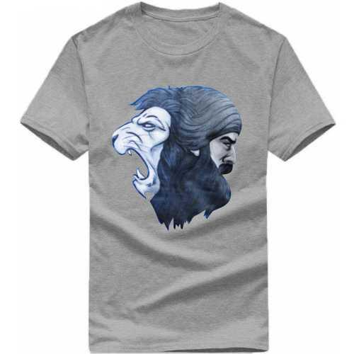 c2ed30cfa Buy Lion Singh Punjabi / Sikh Slogan T-shirts T-Shirts for Men ...