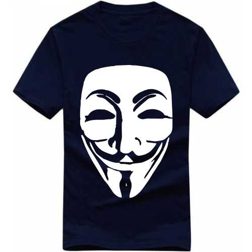 Anonymous Geeks Slogan T-shirts image