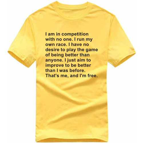 Thats Me And I Am Free Motivational Slogan T-shirts image