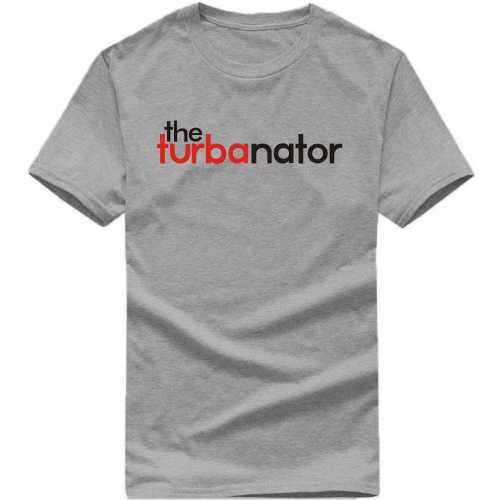 The Turbanator Punjabi / Sikh Slogan T-shirts image