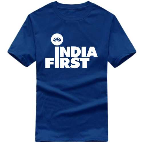 India First Slogan T-shirts image