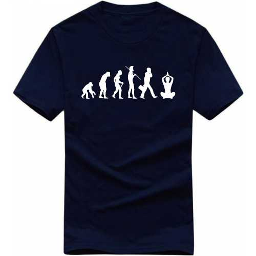 Yoga Evolution T Shirt image