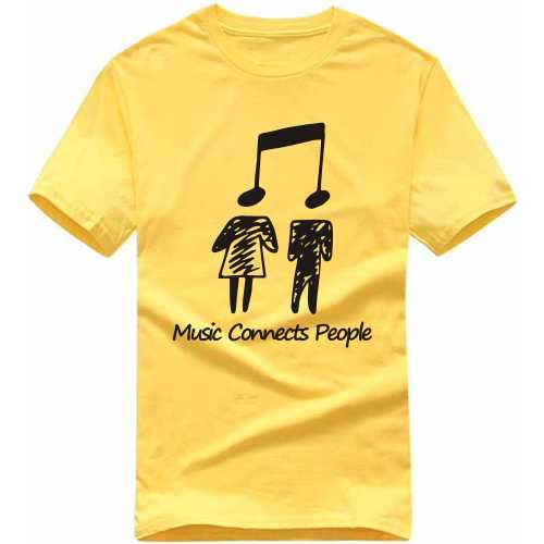 Music Connects People T Shirt image