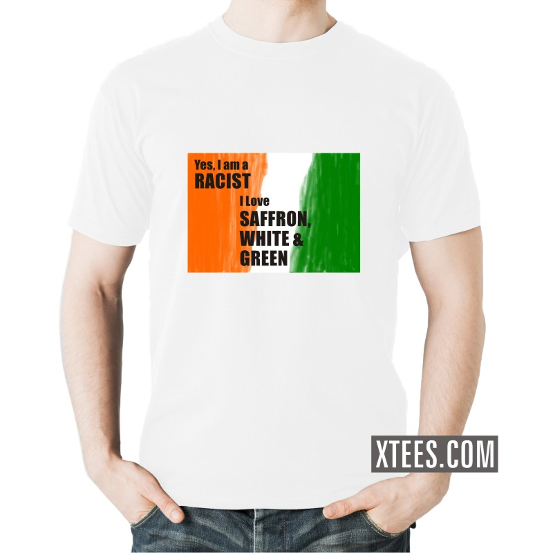 Buy om superman india patriotic slogan t shirts online for Best place to buy t shirts online