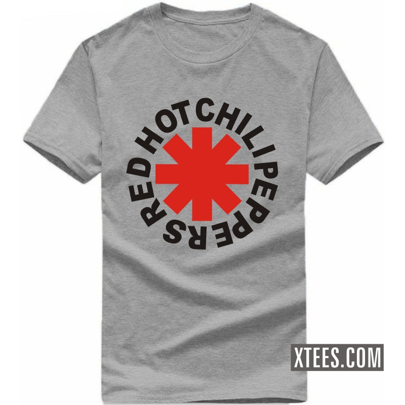 Buy red hot chilli peppers symbol slogan t shirts online for Best place to buy t shirts online