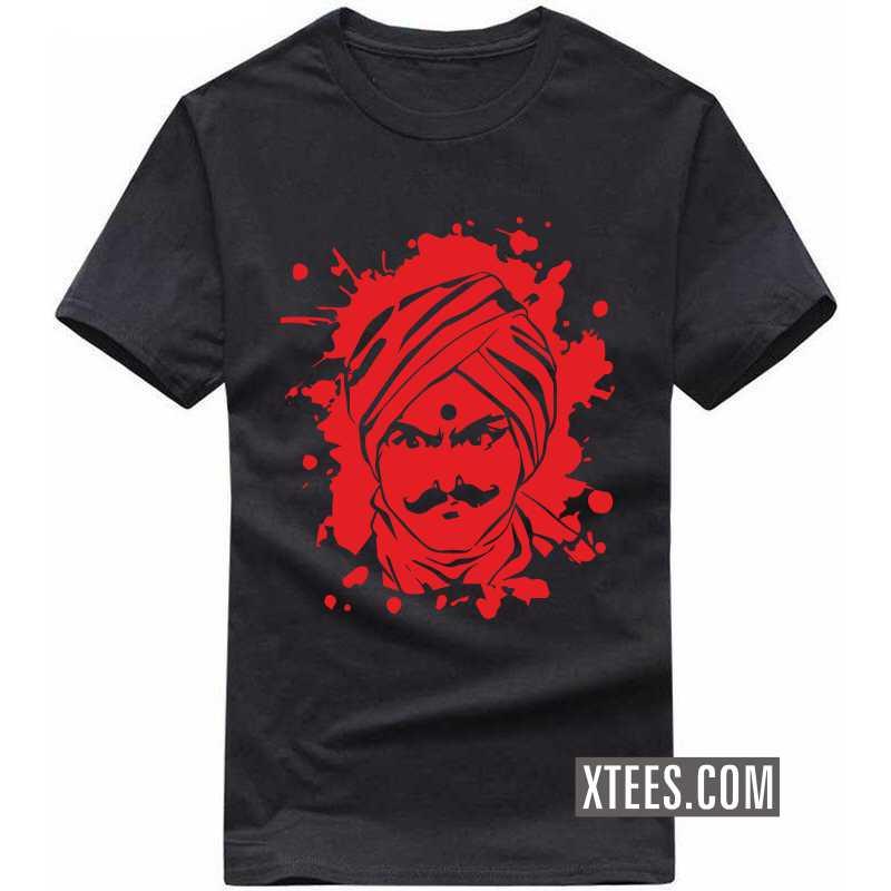 Angry Bharathiyar T Shirt