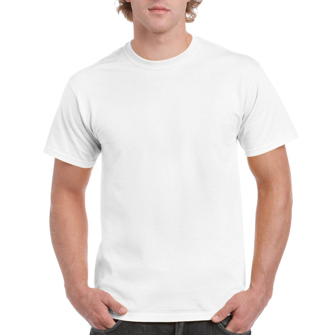 buy white plain blank round neck t shirts for men online india best reviews prices. Black Bedroom Furniture Sets. Home Design Ideas