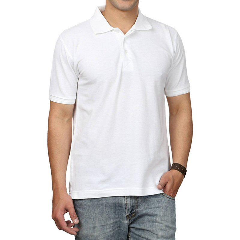 Red Plain Collar Polo T-shirt | Xtees